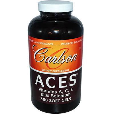Carlson ACES Vitamins Review