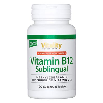 B12 Sublingual Methylcobalamin Review