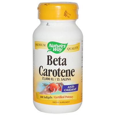 Nature's Way Beta Carotene Review