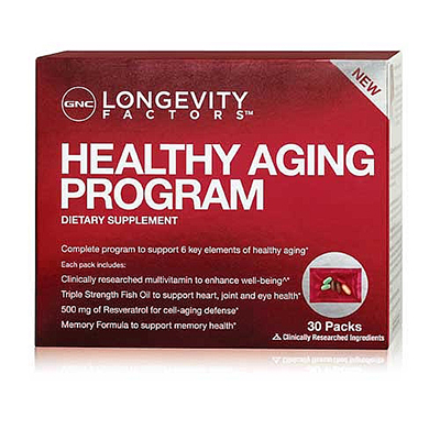 GNC Longevity Factors Healthy Aging Program Review