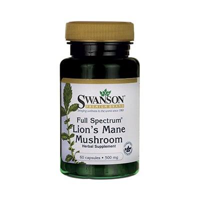 Swanson Lion's Mane Mushroom Review