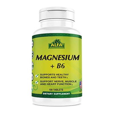 Alfa Vitamins Magnesium plus B6 Review