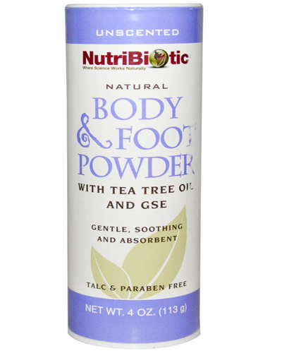 Nutribiotic Natural Body & Foot Powder Review