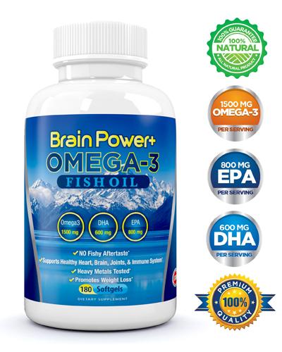Brain Power Plus Omega-3 Fish Oil Review
