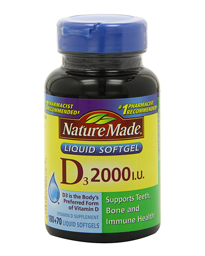 Nature Made Vitamin D3 Review